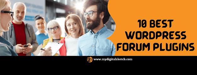 10 Best WordPress Forum Plugins in 2021